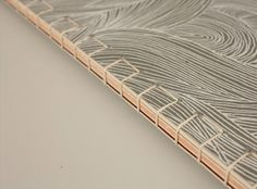 book binding detail