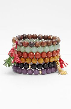 Dogeared Bead Stretch Bracelet available at #Nordstrom