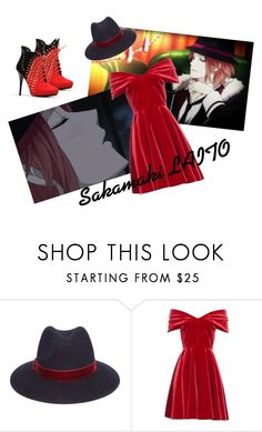 """Sakamaki LAITO"" by the-iron-brat ❤ liked on Polyvore featuring Episode, Forever 21 and Emilio De La Morena"