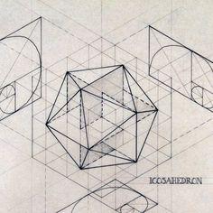 Beautiful Geometric Drawings by Rafael Araujo