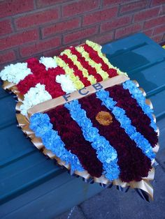 Barcelona Football Club Badge Floral Funeral Tribute...