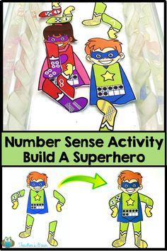 Number Sense Activity for Kids