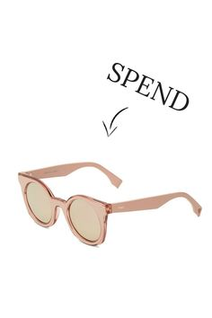 Spend vs save: the ultimate spring sunglasses ~ ~trend Spring Sunglasses, Trending Sunglasses, Designer Shades, Mirrored Sunglasses, Fashion Accessories, Stuff To Buy, Style