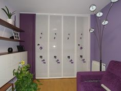 Sliding Panels, New Condo, Shades Blinds, Curtains With Blinds, Ideas Para, Locker Storage, Dividers, House, Furniture