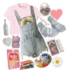 Art by cdecker-ii on Polyvore featuring Monki, UNIF, Imm Living and Fountain
