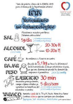 Guía HTA 2013. Tratamiento NO farmacológico. Cardiología. Medicina y salud.
