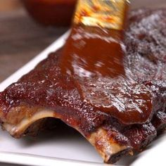 Baked BBQ Ribs with Dry Rub & BBQ Sauce Recipe | TipHero