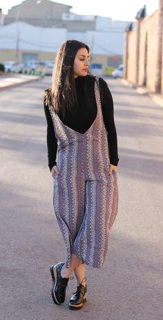 Vacaciones en Plutón: Trend alert: dungaree + culotte #kissmylook