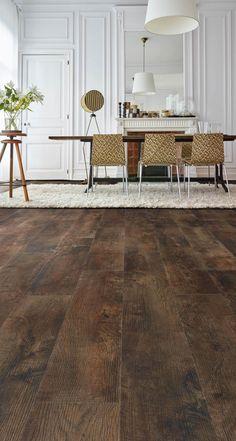 Country Oak 24892 - Wood Effect Luxury Vinyl Flooring - Moduleo