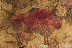 Bisão na Caverna de Altamira.