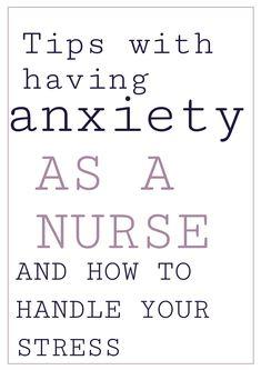 Battling Anxiety for Nurses Nursing Blogs, Nursing Memes, Funny Nursing, Nursing Quotes, New Grad Nurse, Rn Nurse, Nurse Stuff, Nurse Life, Emergency Room Nurse