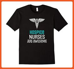 Mens Hospice Nurse Gift Nursing Appreciation Shirt Apparel Large Black - Careers professions shirts (*Partner-Link)