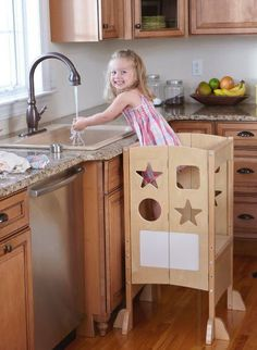 Totally making this step stool for my son!  He needs it!