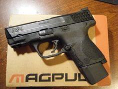 M&P Compact w/ Extended Magazine M&p 9mm, Handgun, Firearms, Smith And Wesson Shield, Smith N Wesson, S&w Shield 9mm, Guns Dont Kill People, Engagement Presents, Shooting Sports