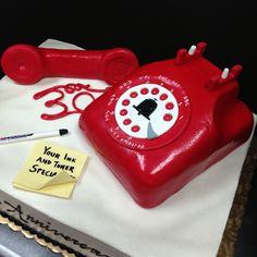 Telephone cake!