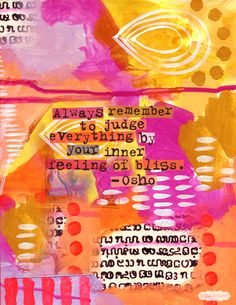 Inner bliss. Osho #quote