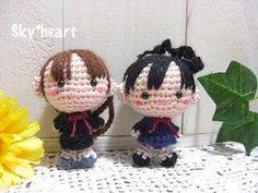niñas amigurumis pagina japonesa