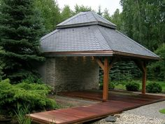 Gazebo, Outdoor Structures, Kiosk, Pavilion