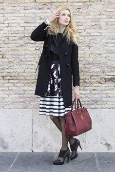 Cappotto Ventifive / Gonna L'Ulà / Borsa Nalù Bags / Gioielli GP Jewels - urban outfit