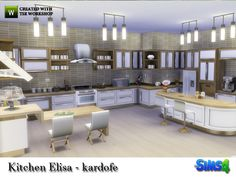 Sims 4 CC's - The Best: Kitchen by Kardofe