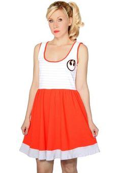 Her Universe Women's Star Wars Roque Squadron A-Line Dress Medium White/Orange Her Universe http://www.amazon.com/dp/B00GRHBYFU/ref=cm_sw_r_pi_dp_VRWZtb13BC07PZV3