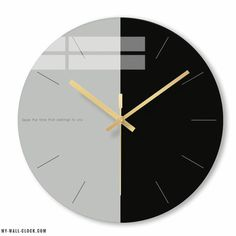 Sleek sellouts! 🤓. Order Grey and Black Scandinavian Clock at $49.90 Break the codes of contemporary decoration with this grey and black Scandinavian wall clock. So sober making it easy to integrate into your decor. Dial diameter (cm): 30. Tempered glass: High resistance and anti-fogging. Quartz movement: Precise, silent and durable mechanism. Scandinavian clock: Directly inspired by Nordic decoration. Simple and regular curves. Minimalist figures: No numbers, no superfluous, only the… Scandinavian Wall Clocks, Black Photo Frames, 3d Wall Clock, Modern Clock, Modern Wall, Verre Design, World Clock, Design Moderne, Centre Pieces