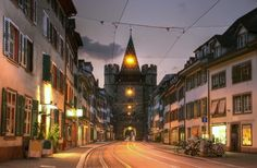 Basel, Switzerland-  Walk through the quiet medieval streets of St. Alban for some of the city's best antique shops and bistros.