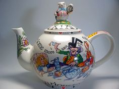 Alice in Wonderland Teapot - Large - SEE PRODUCT VIDEO