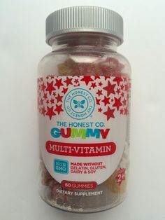 These Honest Gummy Multi-Vitamins are made without harmful ingredients and packed with high quality vitamins and minerals for your growing little one. Honest Co, Vitamins For Kids, Natural Baby, Vitamins And Minerals, Baby Food Recipes, Dairy Free, Green Life, Vegan, Glutenfree