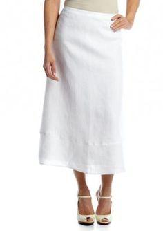 Kim Rogers  Petite Linen Skirt