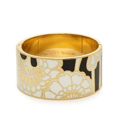 IN FULL BLOOM IDIOM BANGLE  $148.00 by Kate Spade  Inspired by Florence Broadhurst's Japanese Floral