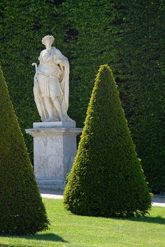 Northern flowerbed - Parterre du Nord, Gardens of the Chateau de Versailles, France -