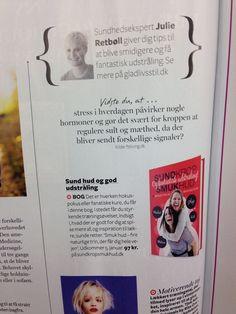 Januar 2015 - skønne Julie anbefaler ekspert i smuk hud, Mads Timmermanns nye bog: sund krop smuk hud. Og fantastisk udstråling... i LIME :-)   Få bogen her: www.sundkropsmukhud.dk
