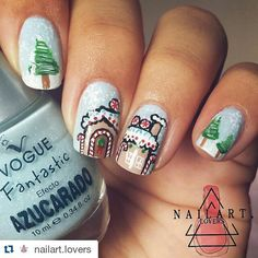 #Repost @nailart.lovers with @repostapp #AllThePrettyNails ・・・ Gingerbread house ⛄ This is my first design for December  Hope you like it #PicsArt #nailart #nailartdesign #nailartlover #nailporn #nailpolish #nailstagram #nailswag #nailsadditc #nailoftheday #nailobsession #nailobsessed #l4l #f4f #love #lovenails #lovepolish #colorfull #colors #inlove #showmynails #lookwenailedit #craftyfingers #nail2inpire #glorynailsso #_nailart_lover_ #nailsgallery1