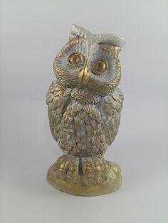 Escultura Coruja da Sabedoria