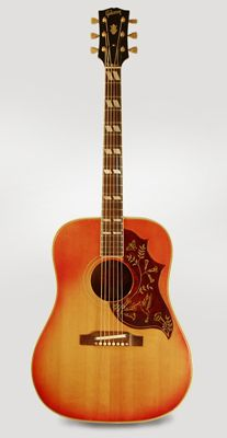Gibson Hummingbird Flat Top Acoustic Guitar (1966)