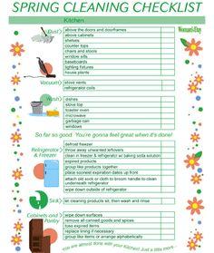 Spring Cleaning Checklist: Kitchen 1