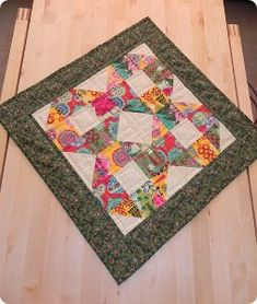 Christmas Miracles Table Topper | FaveQuilts.com