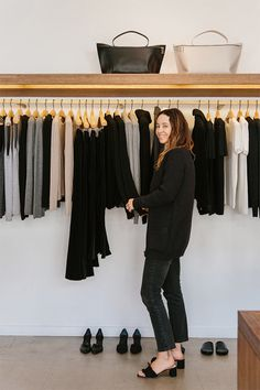 Loeffler Randall x Jenni Kayne Pop-Up coming up in West Hollywood with and Ethical Clothing, Classic Chic, Back To Black, Virtual Closet, Store Design, My Wardrobe, Fall Outfits, Branding Design, Style Inspiration