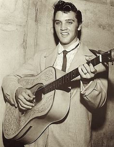 Photos d'Elvis Presley peu commune