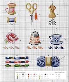 Gallery.ru / Фото #65 - Собираю схемы с наперстками - Julie-pr