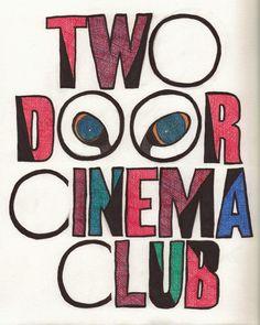 Two Door Cinema Club, seen in Sziget Festival 2012.