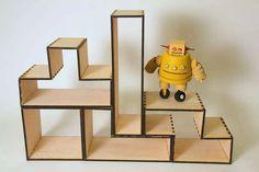 http://www.instructables.com/id/Tetris-Bookshelf/