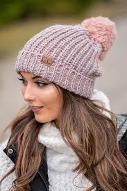 Women s Chunky Thick Winter Knitting Warm Hat e0cb882f149