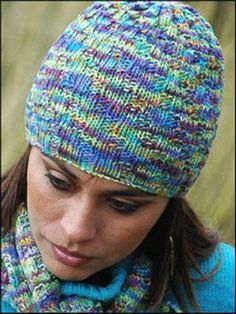1000+ images about knitted hats on 2 needles on Pinterest Knit hats, Hats a...