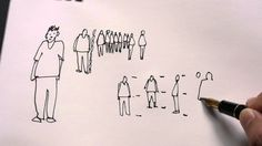 How I Draw Simplified People in Sketches