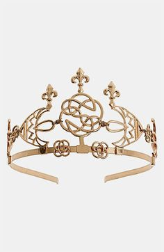 Topshop Filigree Tiara available at Royal Crowns, Royal Tiaras, Tiaras And Crowns, Antique Jewelry, Vintage Jewelry, Royal Jewelry, Circlet, Head Accessories, Hair Ornaments