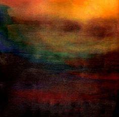 Ethereal landscape el1a 2011. mixed media    cliffwarner.co.uk