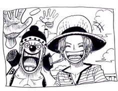 #Shanks #Buggy #Manga