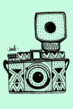 Camera Cute Backgrounds, Cute Wallpapers, Wallpaper Backgrounds, Iphone Wallpapers, Ipod Wallpaper, Camera Wallpaper, Photo Wallpaper, Gravure Illustration, Illustration Photo